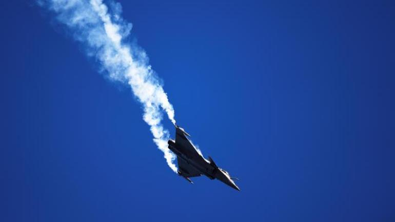 Rafale is a French word. What does it mean?