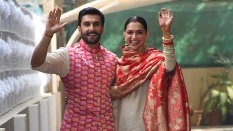 Ranveer Singh and Deepika Padukone got married in November this year.
