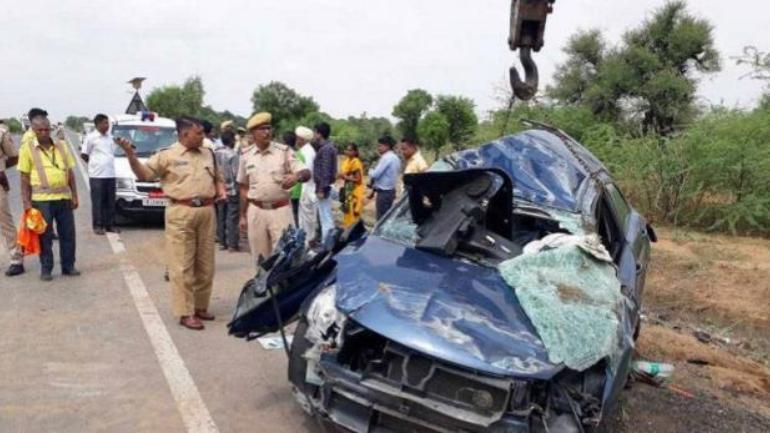 haryana road accident ambala chandigarh