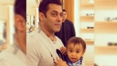 Salman Khan cutting birthday cake with nephew Ahil is the cutest thing on internet today