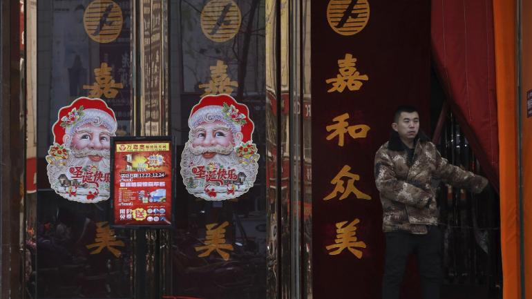 The Christmas Clause.This Christmas Santa Gets Pushed Out As China S Leaders