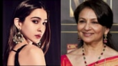 Sharmila Tagore opens up on granddaughter Sara Ali Khan.