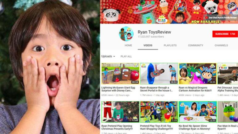This 7-year-old toy reviewer is the highest earning YouTuber