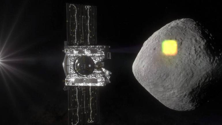 REx spacecraft already found water on its target asteroid