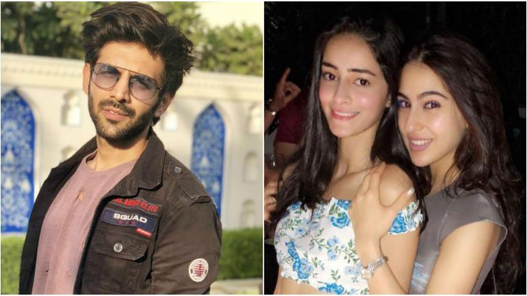 sara ali khan or ananya panday who would kartik aaryan like to date