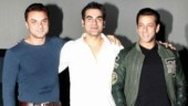 Salman Khan burns the dance floor with Arbaaz and Sohail at Christmas bash. Watch video