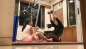 Sushmita Sen working out with daughter Alisah is the cutest thing you will see today