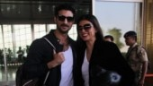 Sushmita Sen with boyfriend Rohman Shawl