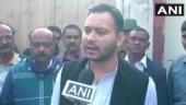 Tejashwi taunts BJP for settling for 17 Lok sabha seats in Bihar