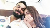 Virat Kohli and Anushka Sharma off to Sydney to ring in the New Year. See pic