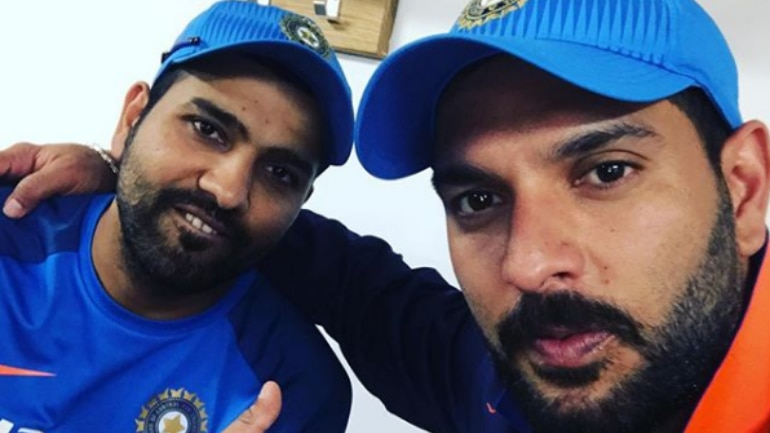 Yuvraj Singh joins Mumbai Indians: Rohit Sharma welcomes