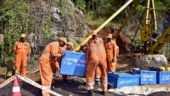 Meghalya: Rescuers struggle to pump out water from flooded mine