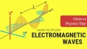 Class 12 Physics tips for board exam and JEE: How to study Electromagnetic Waves (EMWs)