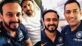 MS Dhoni, Rohit Sharma on their way to Australia for ODI series