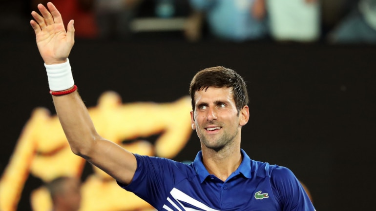 Djokovic edges Krueger to secure second-round spot