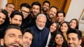 PM Narendra Modi and young Bollywood star in Selfie of the Year. See pic