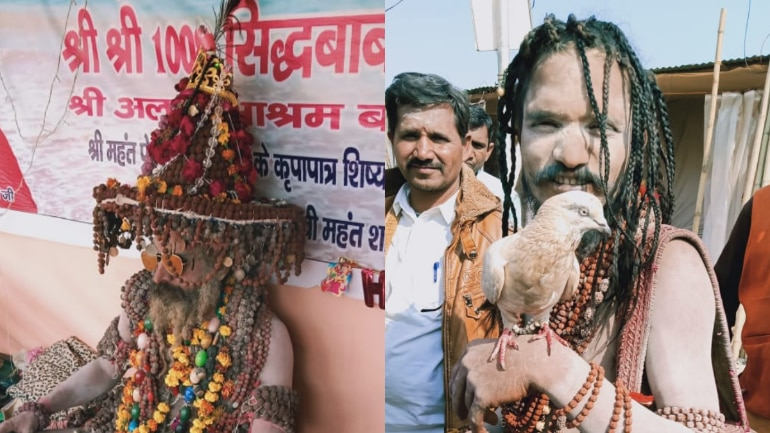 Kumbh mela 2019: From kabutar baba to rudrakhsh baba, sadhus outshine on Day 2