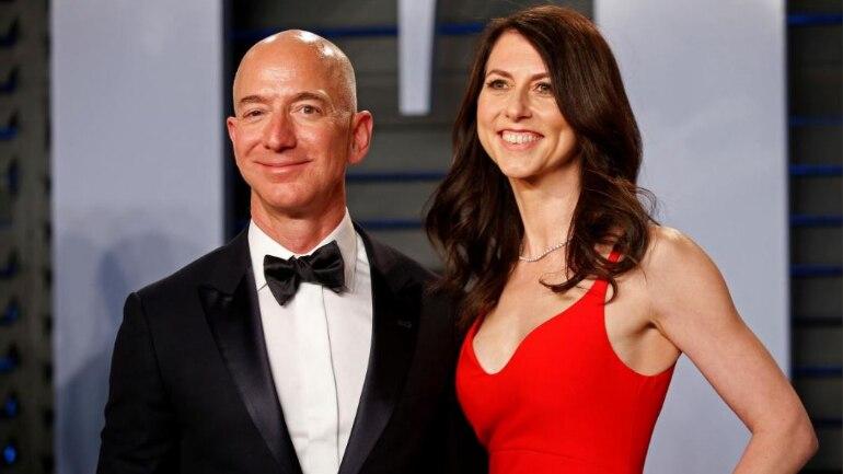 Amazon Ceo And World S Richest Person Jeff Bezos Wife Mackenzie Set