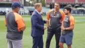 Spotted: Shane Warne advises Kuldeep Yadav before Chinaman bowler's 3-wicket haul