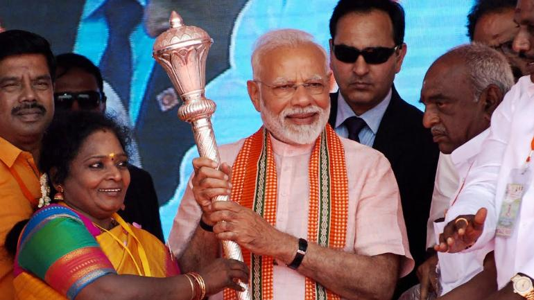 PM Modi lays foundation stone for AIIMS Madurai in Tamil Nadu