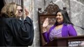 Daughter of Bihar takes oath as Washington State Senator with Gita in hand