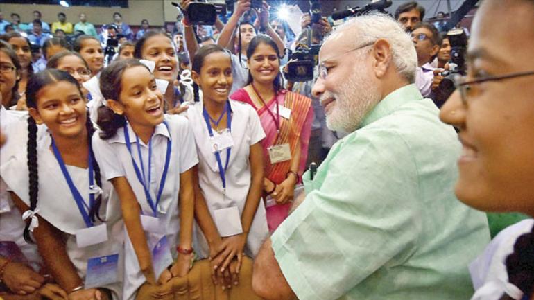 Pariksha pe charcha, prime minister, online competition, exam warrior, exam, students, teachers, parents