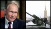 Putin fires a canon in Russia to wish his country Merry Christmas. Watch video