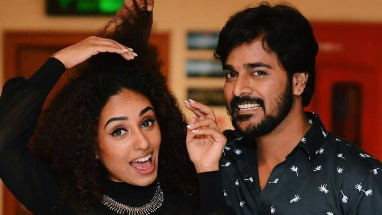 Bigg Boss Malayalam Contestants Pearle Maaney And Srinish Aravind