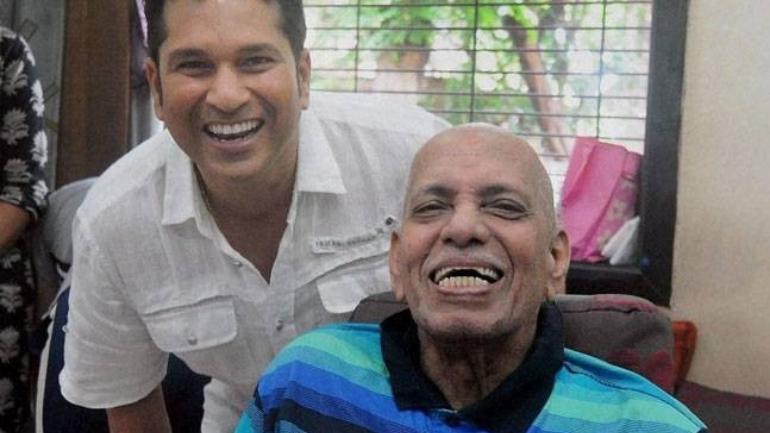 Ramakant Achrekar, Sachin Tendulkar's coach, passed away in Mumbai on Wednesday