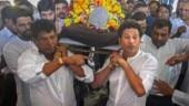 Political parties fume over no state funeral for Sachin Tendulkar's coach Ramakant Achrekar