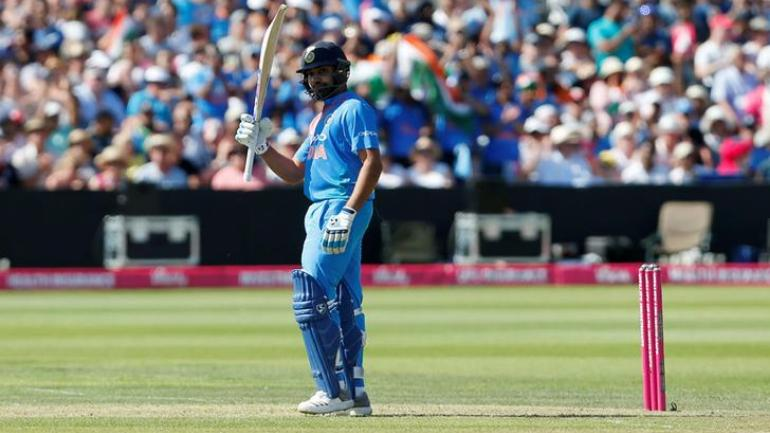 Rohit Sharma scored his 22nd ODI hundred and seventh against Australia
