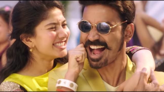 Maari 2: Dhanush-Sai Pallavi Rowdy Baby song makes it to Top
