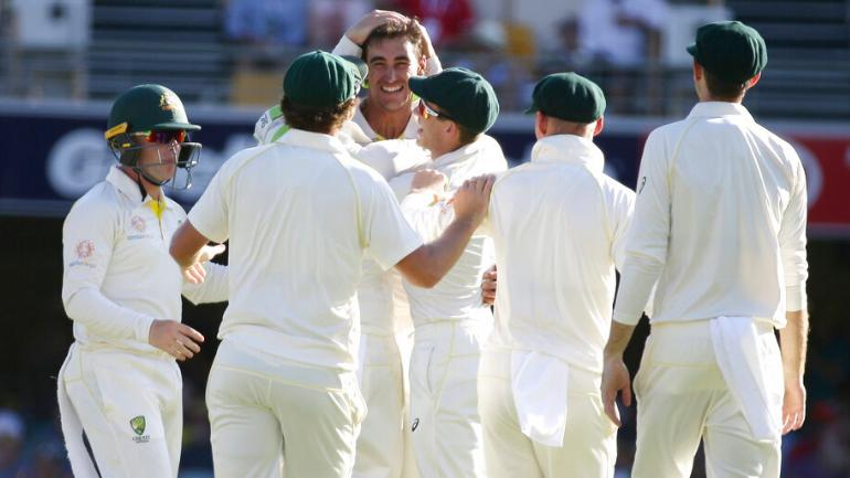 Mitchell Starc Claimed His 200th Test Wicket Australia Vs Sri Lanka