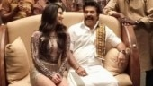 Sunny Leone shakes a leg with Malayalam superstar Mammootty in Madhura Raja. See pic