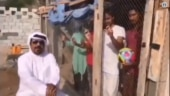 UAE man locks up Indian football fans in cage before match. Watch viral video