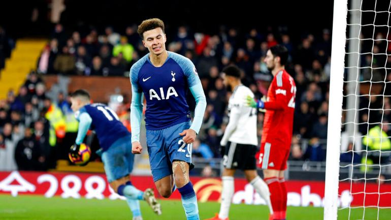 a58acc713d2 Premier League  Tottenham Hotspur recover from own goal to beat ...