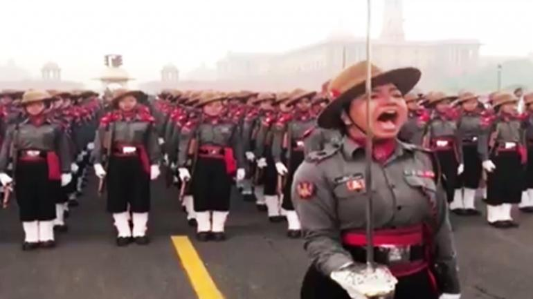 Republic Day: Daughter of bus conductor Maj Khushboo leads all-woman Assam Rifles in parade