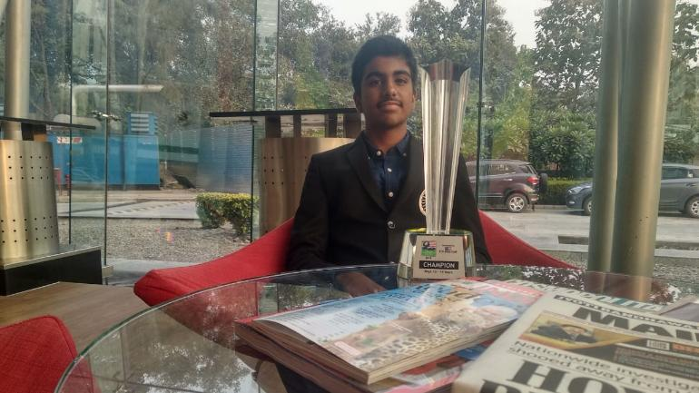 The story of Arjun Bhati, a 14-year-old Indian golf