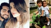 Ayushmann Khurrana wishes son Virajveer happy birthday with adorable pic. See photo