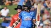 India vs New Zealand, 1st ODI: Shikhar Dhawan's half-century helped India gun down a modest total in Napier (@BCCI Photo)