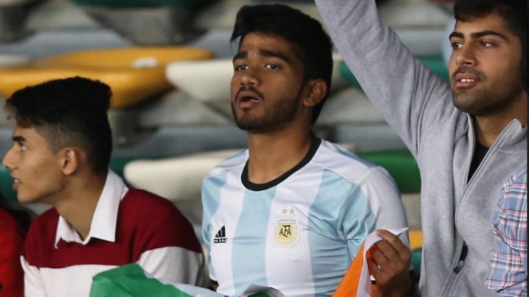 buy popular 1325f d10a3 AFC trolls Indian fan wearing Argentina jersey in Asian Cup ...