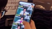 Samsung Galaxy S10+ live image spotted, shows wide display hole for dual selfie cameras