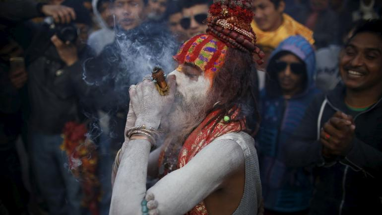 Delhi Police on New Year's eve busted an international drug racket. Photo for representational purposes only. Pic: Reuters