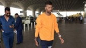 Hardik Pandya spotted with Krunal at Mumbai airport after Koffee with Karan controversy