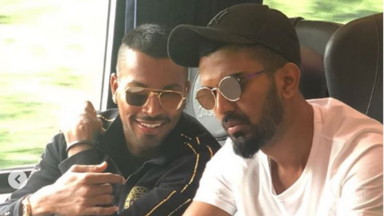 Hardik Pandya and KL Rahul are set to miss the three-match ODI series in Australia (Instagram Photo)