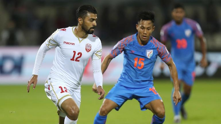 India suffered a 0-1 defeat to Bahrain (Photo Credit: AFC Media)