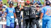 India 92-all out, collapse to their lowest ever ODI total in New Zealand