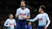 League Cup semi-finals: Kane penalty fires Tottenham to 1-0 win vs Chelsea in first leg
