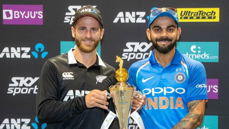 9f0046fd42 India and New Zealand will play 5 ODIs and 3 T20Is (AP Photo)