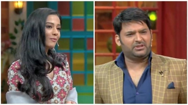 The Kapil Sharma Show: Newlywed Kapil flirts with Amrita Rao  Here's